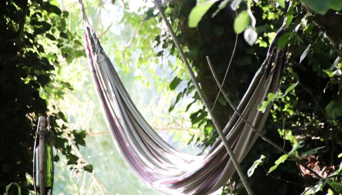 The hammock by the stream... again