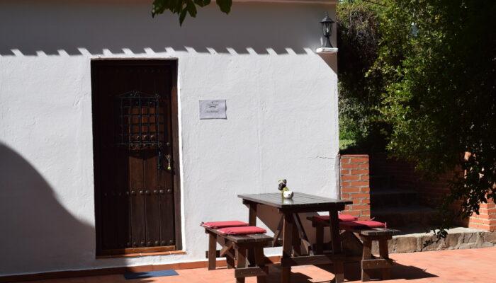 Möblierte Terrasse des Casa La Solina