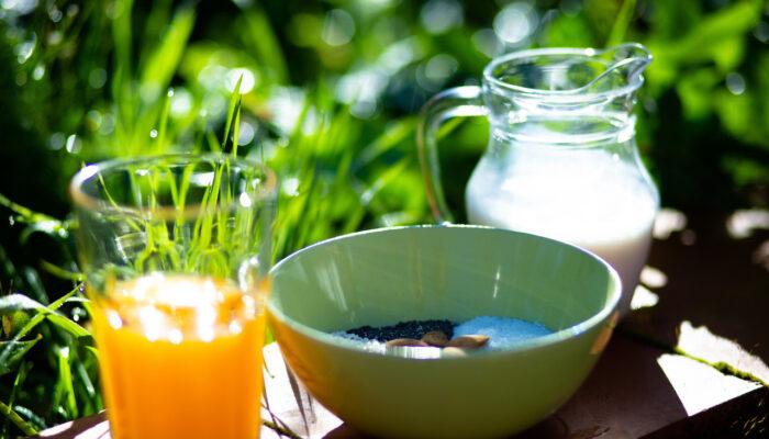 Toma tu desayuno al aire libre